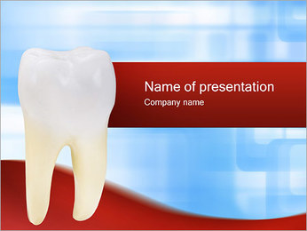 Tooth Model PowerPoint Template