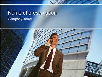 Telecommunication PowerPoint Template