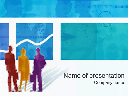 Office Work PowerPoint Template