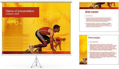 Runner PowerPoint Template