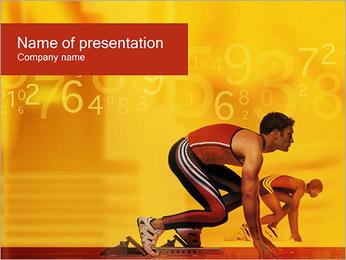 Runner PowerPoint Templates - Slide 1