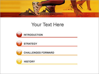 Runner PowerPoint Templates - Slide 3
