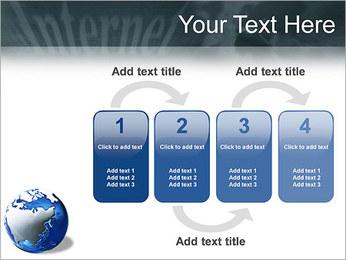 Internet & Laptop PowerPoint Template - Slide 11