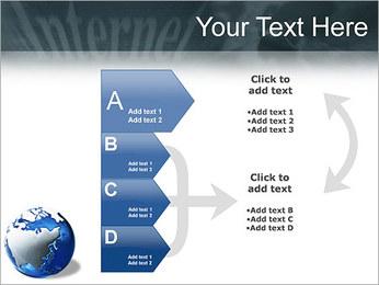 Internet & Laptop PowerPoint Template - Slide 16