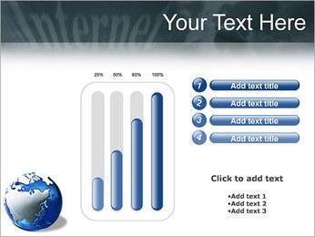 Internet & Laptop PowerPoint Template - Slide 18