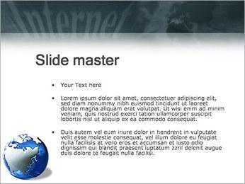 Internet & Laptop PowerPoint Template - Slide 2