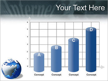 Internet & Laptop PowerPoint Template - Slide 21