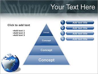 Internet & Laptop PowerPoint Template - Slide 22