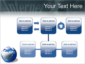 Internet & Laptop PowerPoint Template - Slide 23