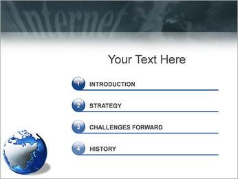 Internet & Laptop PowerPoint Template - Slide 3