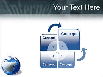 Internet & Laptop PowerPoint Template - Slide 5