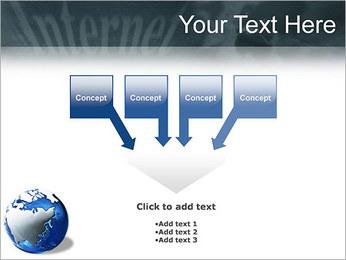 Internet & Laptop PowerPoint Template - Slide 8