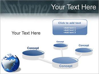 Internet & Laptop PowerPoint Template - Slide 9
