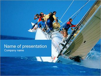 Naufragio I pattern delle presentazioni del PowerPoint