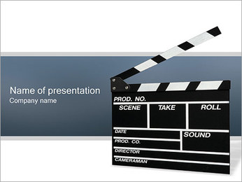 Film Producing PowerPoint Template