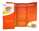 Cup of Tea Brochure Templates