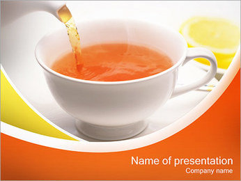Cup of Tea PowerPoint Template