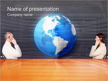 Comunicación móvil Plantillas de Presentaciones PowerPoint - Diapositiva 1