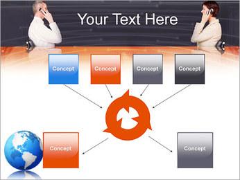 Comunicación móvil Plantillas de Presentaciones PowerPoint - Diapositiva 10
