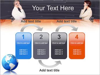 Comunicación móvil Plantillas de Presentaciones PowerPoint - Diapositiva 11