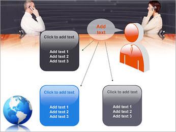 Comunicación móvil Plantillas de Presentaciones PowerPoint - Diapositiva 12