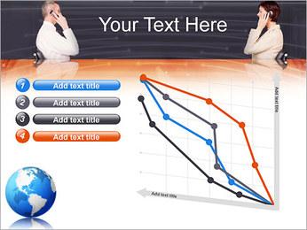 Comunicación móvil Plantillas de Presentaciones PowerPoint - Diapositiva 13