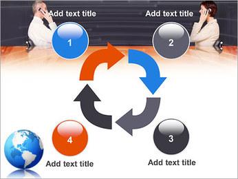 Comunicación móvil Plantillas de Presentaciones PowerPoint - Diapositiva 14