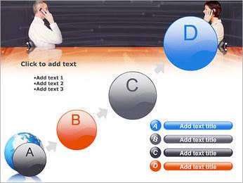 Comunicación móvil Plantillas de Presentaciones PowerPoint - Diapositiva 15