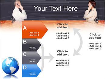 Comunicación móvil Plantillas de Presentaciones PowerPoint - Diapositiva 16
