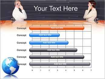 Comunicación móvil Plantillas de Presentaciones PowerPoint - Diapositiva 17