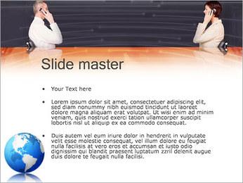 Comunicación móvil Plantillas de Presentaciones PowerPoint - Diapositiva 2