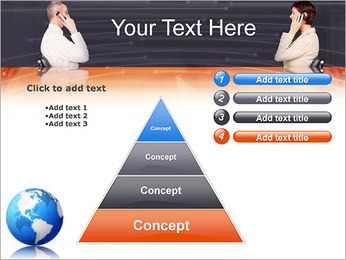 Comunicación móvil Plantillas de Presentaciones PowerPoint - Diapositiva 22