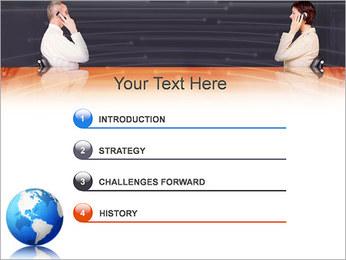 Comunicación móvil Plantillas de Presentaciones PowerPoint - Diapositiva 3