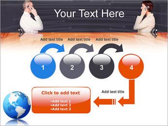 Comunicación móvil Plantillas de Presentaciones PowerPoint - Diapositiva 4