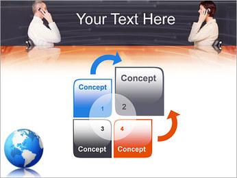 Comunicación móvil Plantillas de Presentaciones PowerPoint - Diapositiva 5