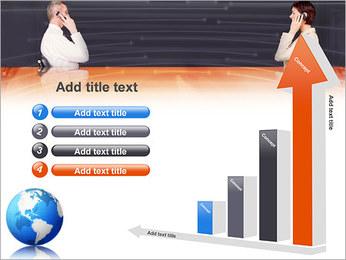 Comunicación móvil Plantillas de Presentaciones PowerPoint - Diapositiva 6