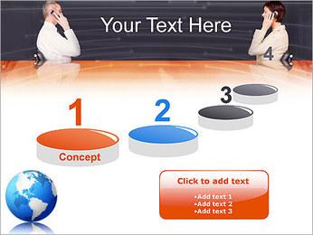 Comunicación móvil Plantillas de Presentaciones PowerPoint - Diapositiva 7
