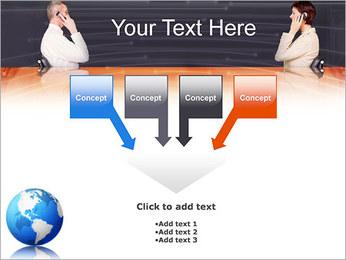 Comunicación móvil Plantillas de Presentaciones PowerPoint - Diapositiva 8
