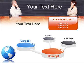 Comunicación móvil Plantillas de Presentaciones PowerPoint - Diapositiva 9