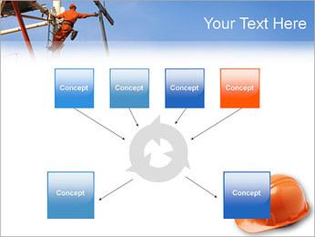 Chapéu duro Modelos de apresentações PowerPoint - Slide 10