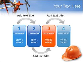 Chapéu duro Modelos de apresentações PowerPoint - Slide 11