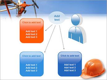 Chapéu duro Modelos de apresentações PowerPoint - Slide 12