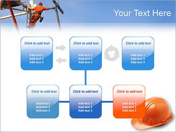 Chapéu duro Modelos de apresentações PowerPoint - Slide 23