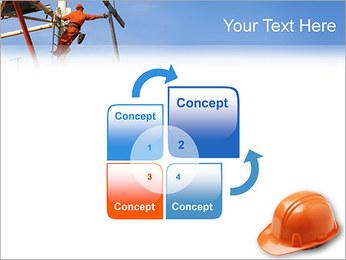 Chapéu duro Modelos de apresentações PowerPoint - Slide 5