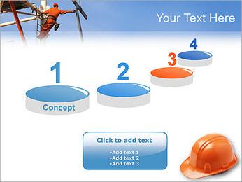 Chapéu duro Modelos de apresentações PowerPoint - Slide 7