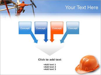 Chapéu duro Modelos de apresentações PowerPoint - Slide 8