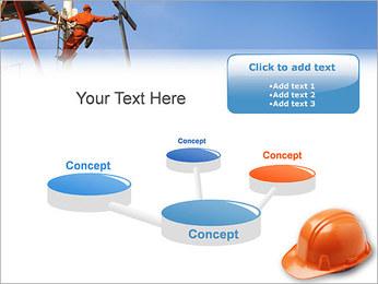 Chapéu duro Modelos de apresentações PowerPoint - Slide 9