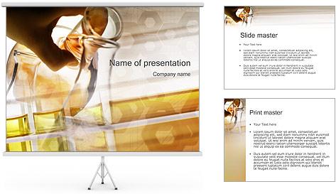 Les expériences scientifiques Modèles des présentations  PowerPoint