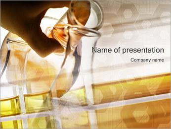Les expériences scientifiques Modèles des présentations  PowerPoint - Diapositives 1