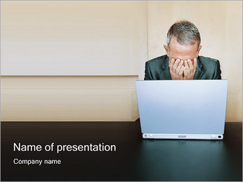 Fail in Business PowerPoint Template